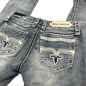 Rock Revival Susan Straight Jeans Size 27